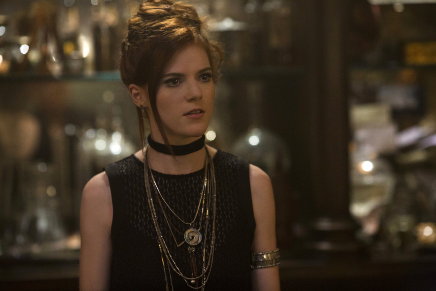 exclusive  rose leslie talks the last witch hunter