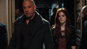 The Last Witch Hunter 12 Vin Diesel and Rose Leslie