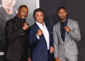 Creed Premiere - Carl Weathers, Sylvester Stallone and Michael B. Jordan