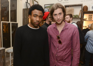 Donald Glover and Ludwig Goransson