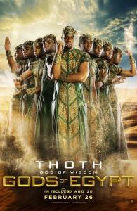 Gods of Egypt poster Chadwick Boseman