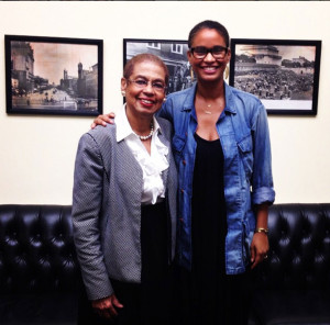 Good Girls Revolt Joy Bryant and Eleanor Holmes Norton