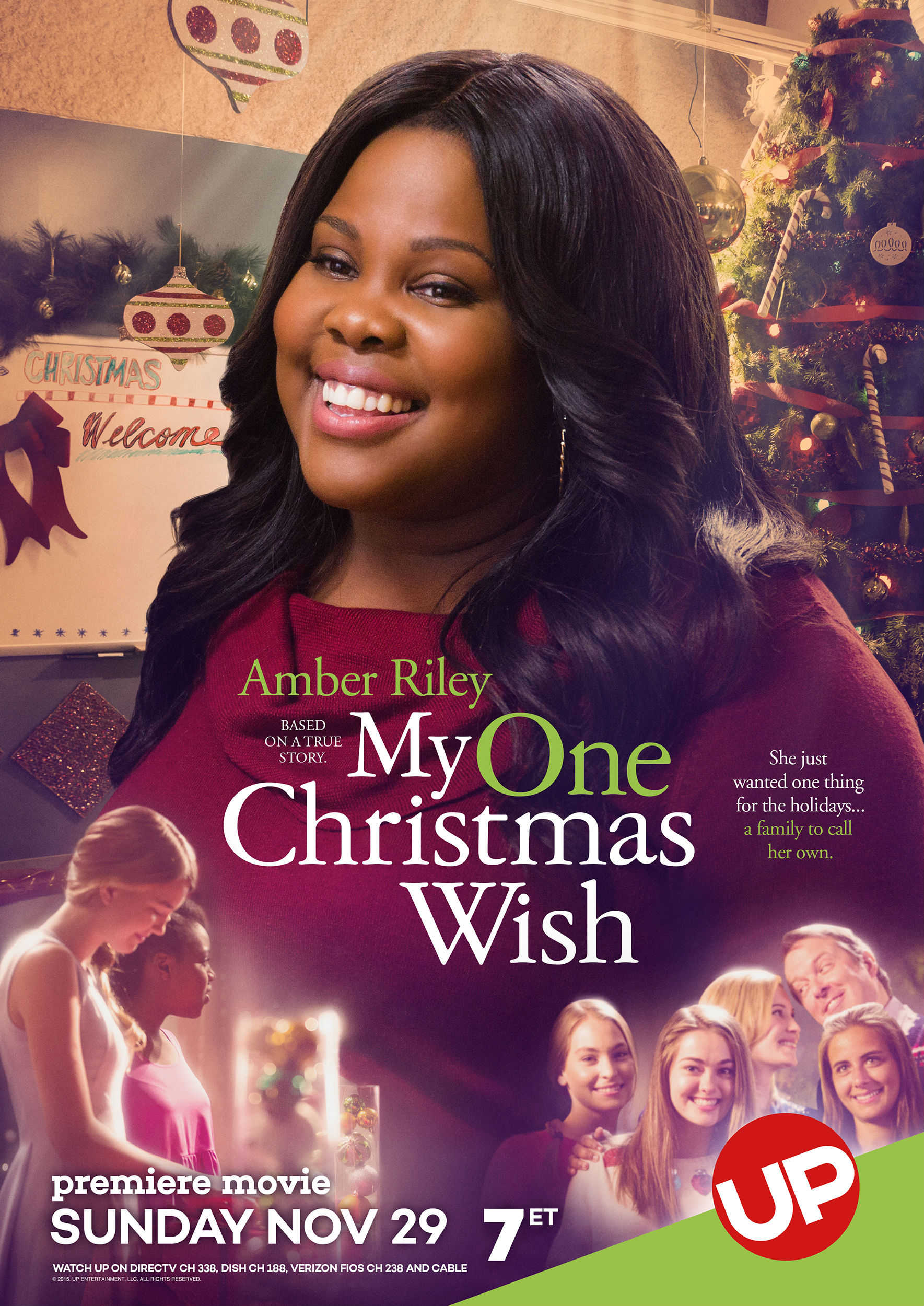 UP's My One Christmas Wish, Starring Amber Riley, Airs Nov. 29 ...