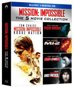 Mission Impossible 5-movie Blu-ray collection
