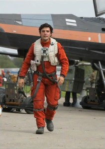 Oscar Isaac as Poe Dameron 1