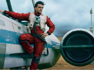 Oscar Isaac as Poe Dameron 2