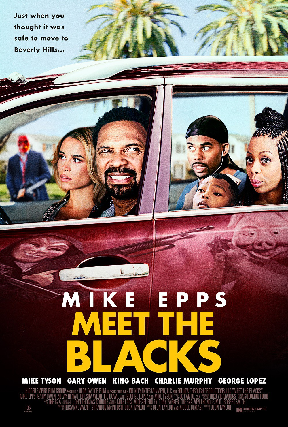 meet the blacks movie poster