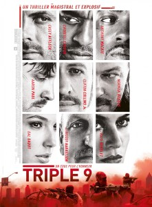Triple 9 French poster