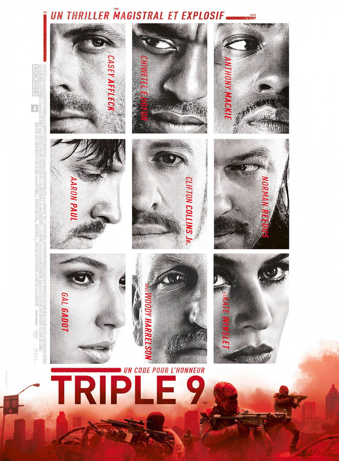 New Characters Posters For 'Triple 9' - blackfilm.com/read ... Kate Winslet Imdb