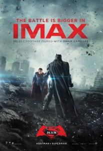 Batman v Superman Dawn of Justice IMAX poster
