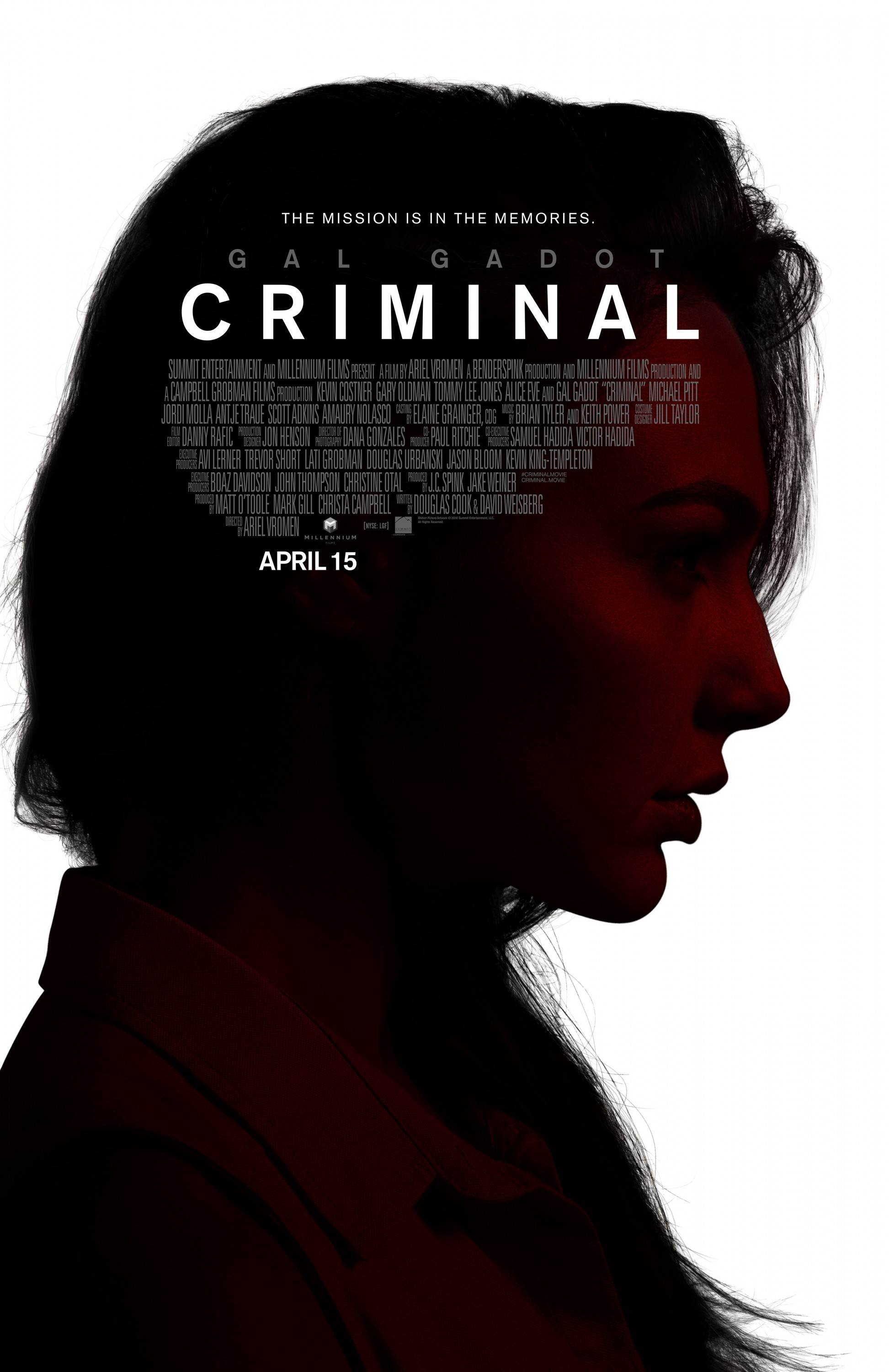 Criminal (2016) 720p WEB-DL – ShAaNiG – 950MB