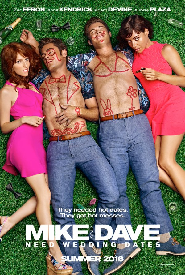 Red Band Trailer To Mike and Dave Need Wedding Dates ... Anna Kendrick Brothers