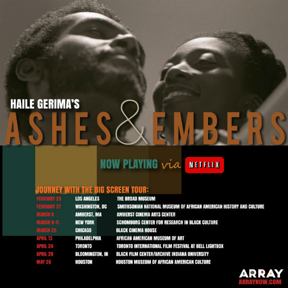 Ashes and Embers Netflix Now Playing