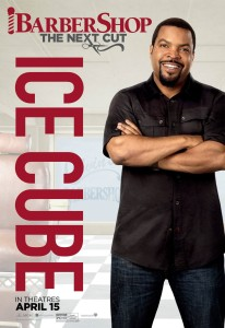 Barbershop The Next Cut Poster Ice Cube