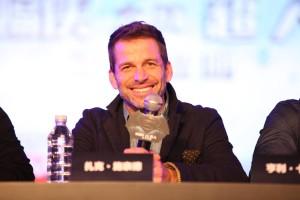 Batman v Superman press conference - director Zack Snyder