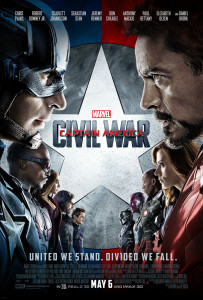 Captain America Civil War Faceoff Poster