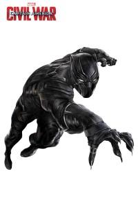 Captain America Civil War promo image Black Panther