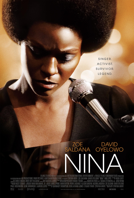 See a Poster of Zoe Saldana As Nina Simone -- Vulture