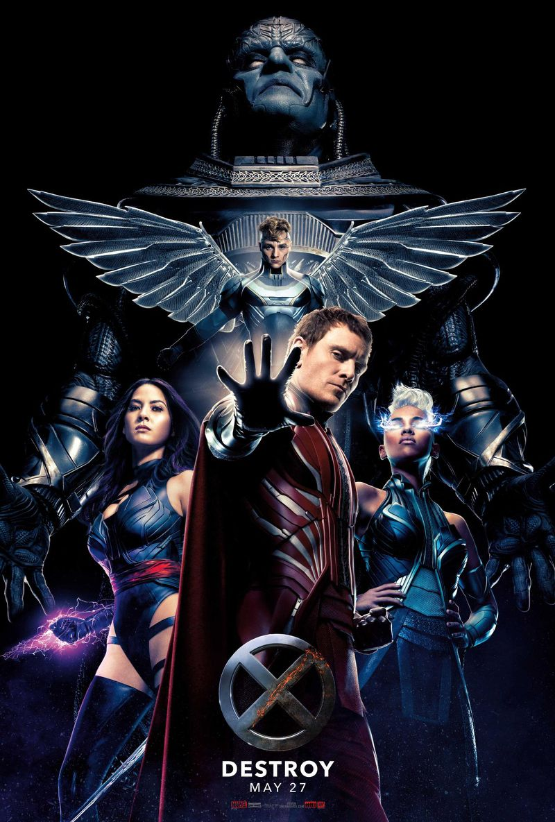 20th Century Fox has released a new poster to X-Men: Apocalypse ... X Men First Class Poster