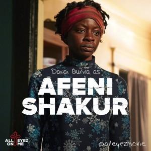 All Eyez on Me - Danai Gurira as Afeni Shakur