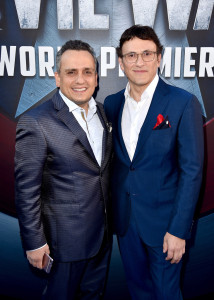 Captain America Civil War Global Premiere - Directors Joe Russo and Anthony Russo
