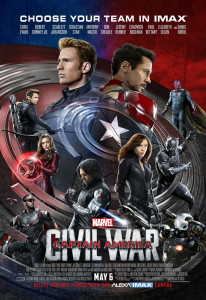 Captain America Civil War IMAX poster