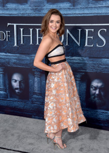 Game of Thrones Season 6 premiere - Maisie Williams 2