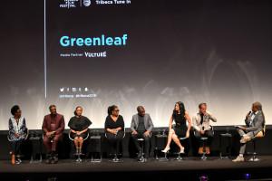 Greenleaf Tribeca Premiere - Cast on stage