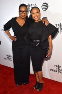 Greenleaf Tribeca Premiere - Oprah Winfrey and Lynn Whitfield