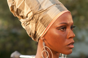 Nina film - Zoe Saldana as Nina Simone close-up