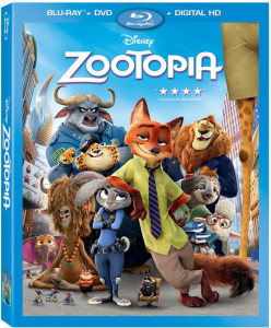 Zootopia Bluray Combo