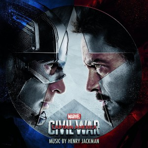 Captain America Civil War album cover