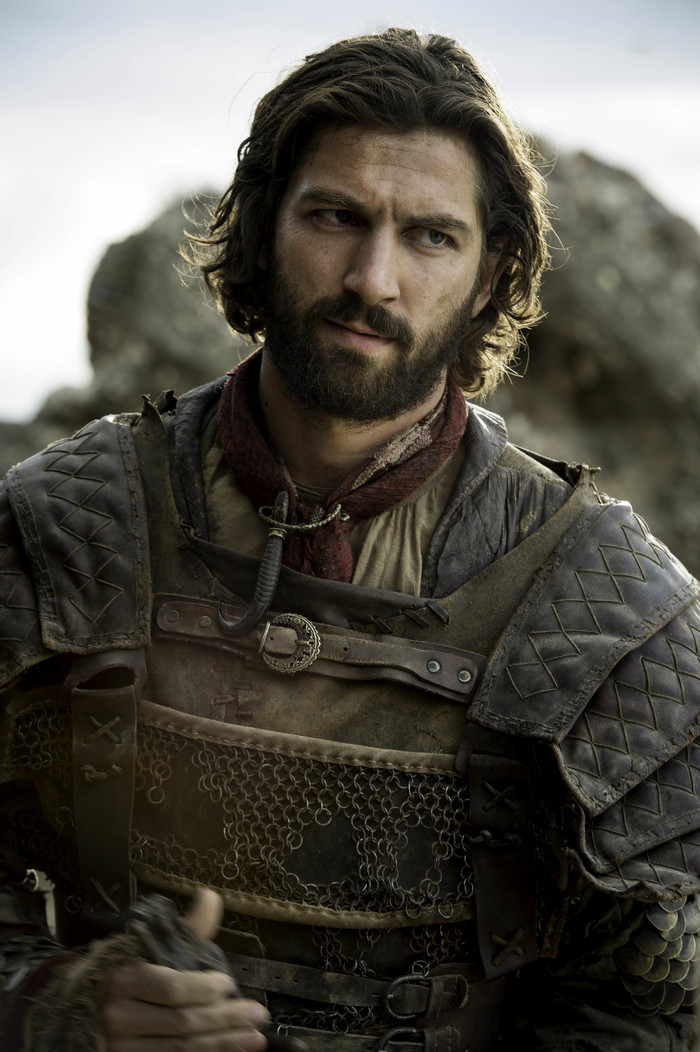 Game of Thrones S6 Ep4 Book of the Stranger Michiel ... Daario Naharis Game Of Thrones Season 4