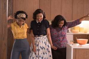 Hidden Figures - Janelle Monáe, left, Taraji P. Henson and Octavia Spencer