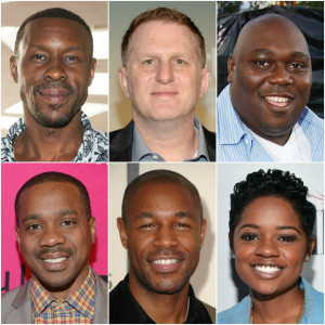 New Edition The Movie Wood Harris, Michael Rapaport, Faizon Love, Duane Martin, Tank and Bre-Z