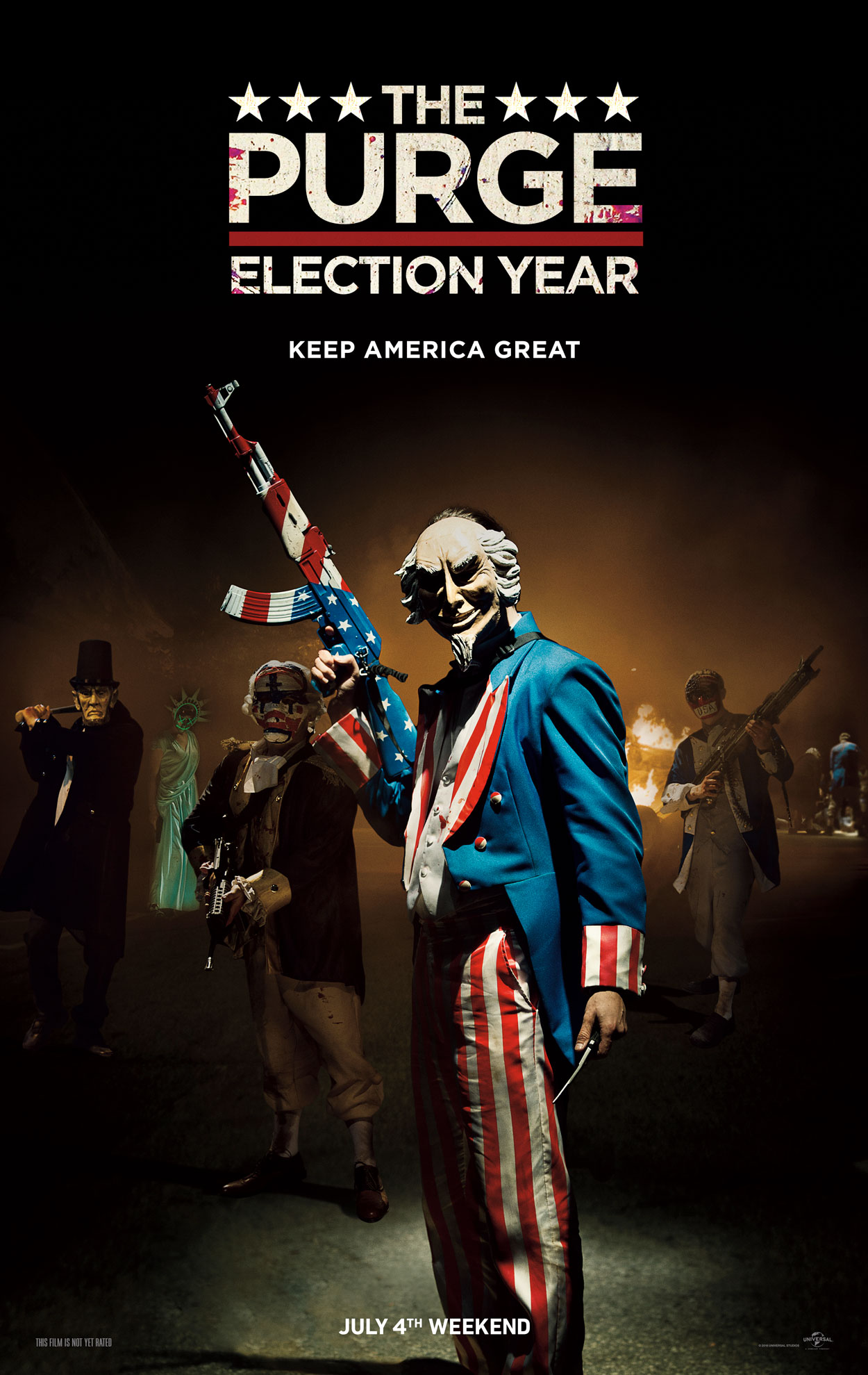 New Trailer And Poster To The Purge Election Year