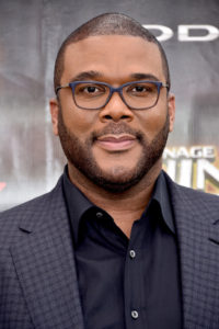 Tyler Perry at TMNT2 premiere 2