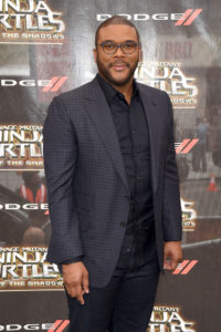 Tyler Perry at TMNT2 premiere