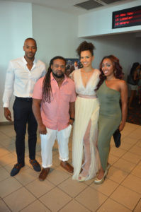 Director Corey Grant and cast of Illicit
