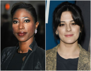 Nikki Amuka-Bird and Phoebe Fox