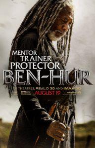 Ben-Hur Poster Morgan Freeman as Ildarin