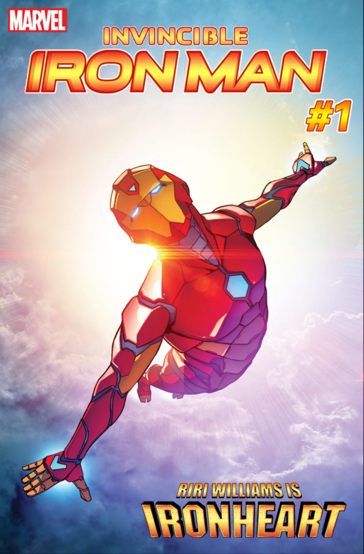 heart iron man