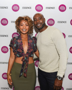 Jaz Sinclair and Morris Chestnut 2