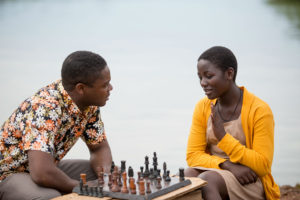 Queen of Katwe - David Oyelowo as Robert Katende and Madina Nalwanga as Phiona Mutesi