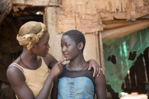 Queen of Katwe - Lupita Nyong'o as Harriet Mutesi and Madina Nalwanga as Phiona Mutesi