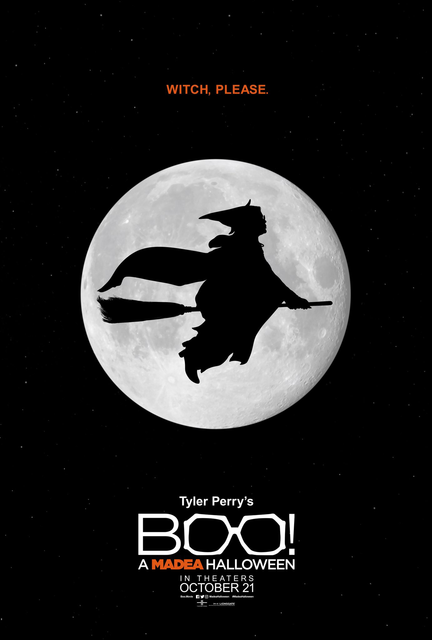 New Poster To Tyler Perry's 'Boo! A Madea Halloween - blackfilm ...