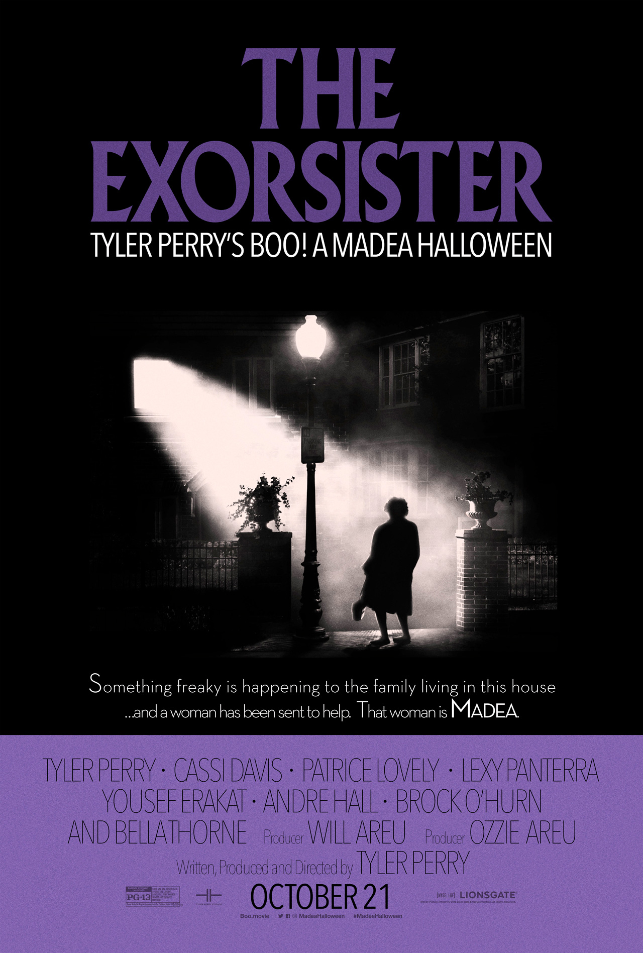 An Exorcist Poster To Tyler Perry's Boo! A Madea Halloween ...