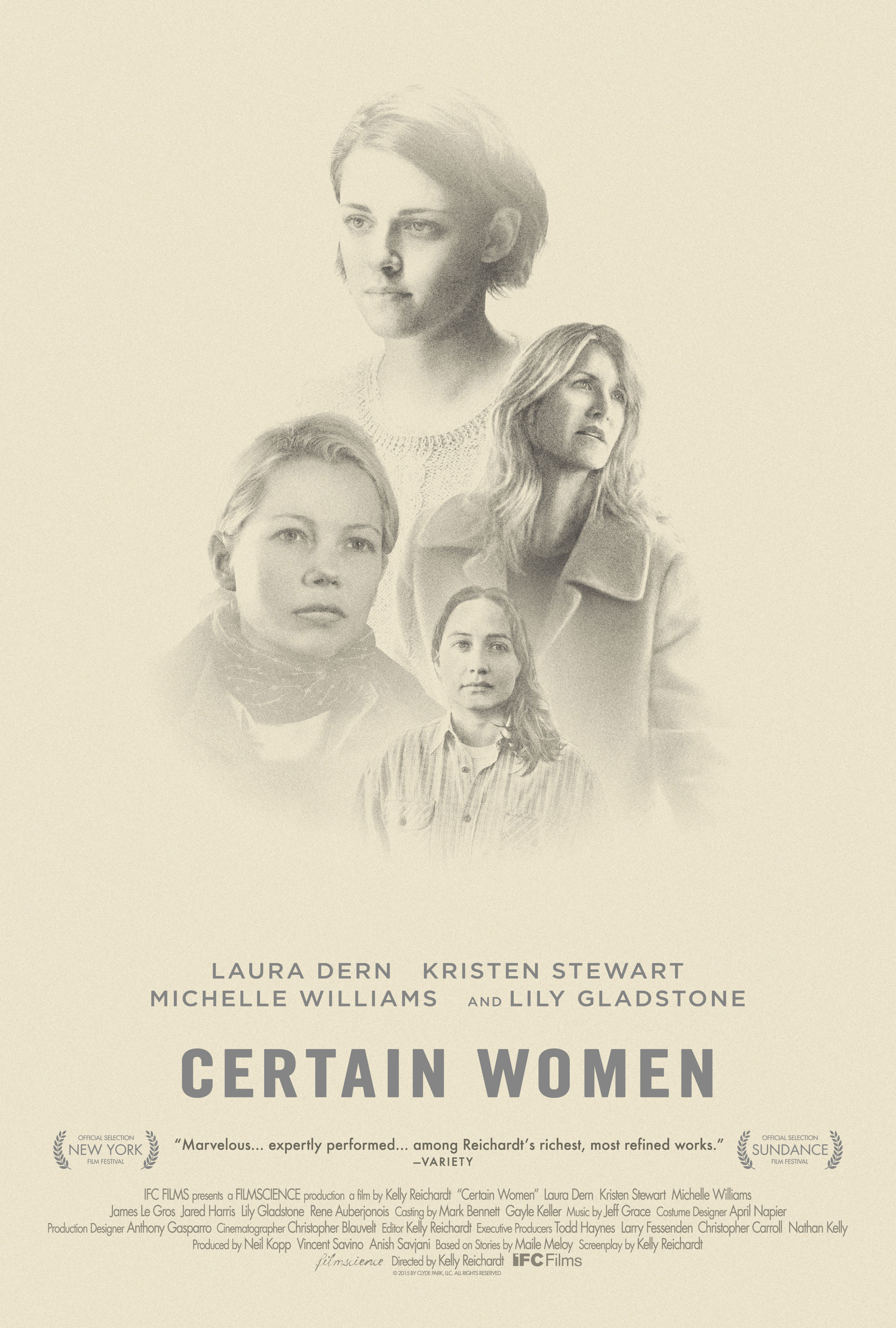 Trailer And Poster To Certain Women - Blackfilm - Black ...