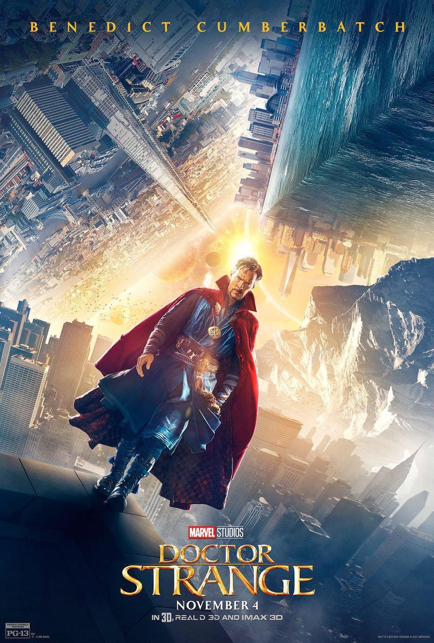 Doctor Strange Film: Doctor-strange-poster-5-benedict-cumberbatch