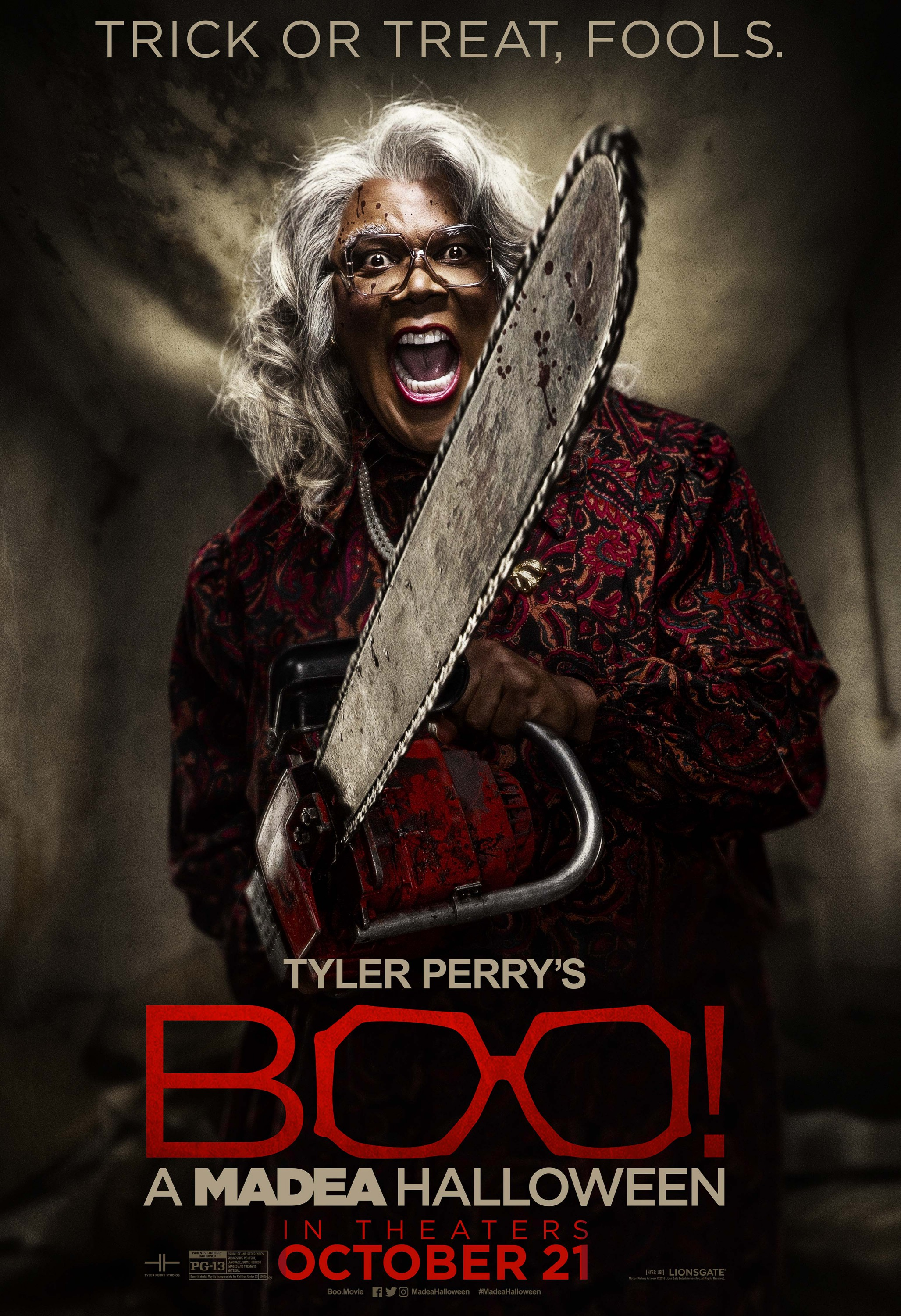 More Posters To Tyler Perry's Boo! A Madea Halloween - blackfilm ...